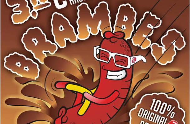 Im März gibt es wieder legger Brambes…. eine Mischung aus Ketchup, May0, Senf, uvm… Schmeckt super auf der Worscht und auf den Pommes