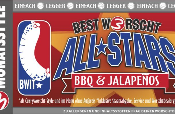 Best Worscht All Stars – BBQ & Jalapeños