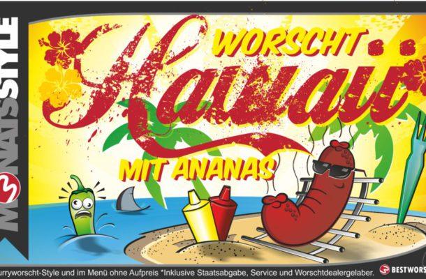 Unser Monatsstyle im Juni…Hawaii Style!