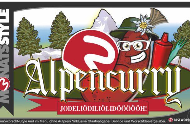 Unser Monatsstyle im August: Alpencurry